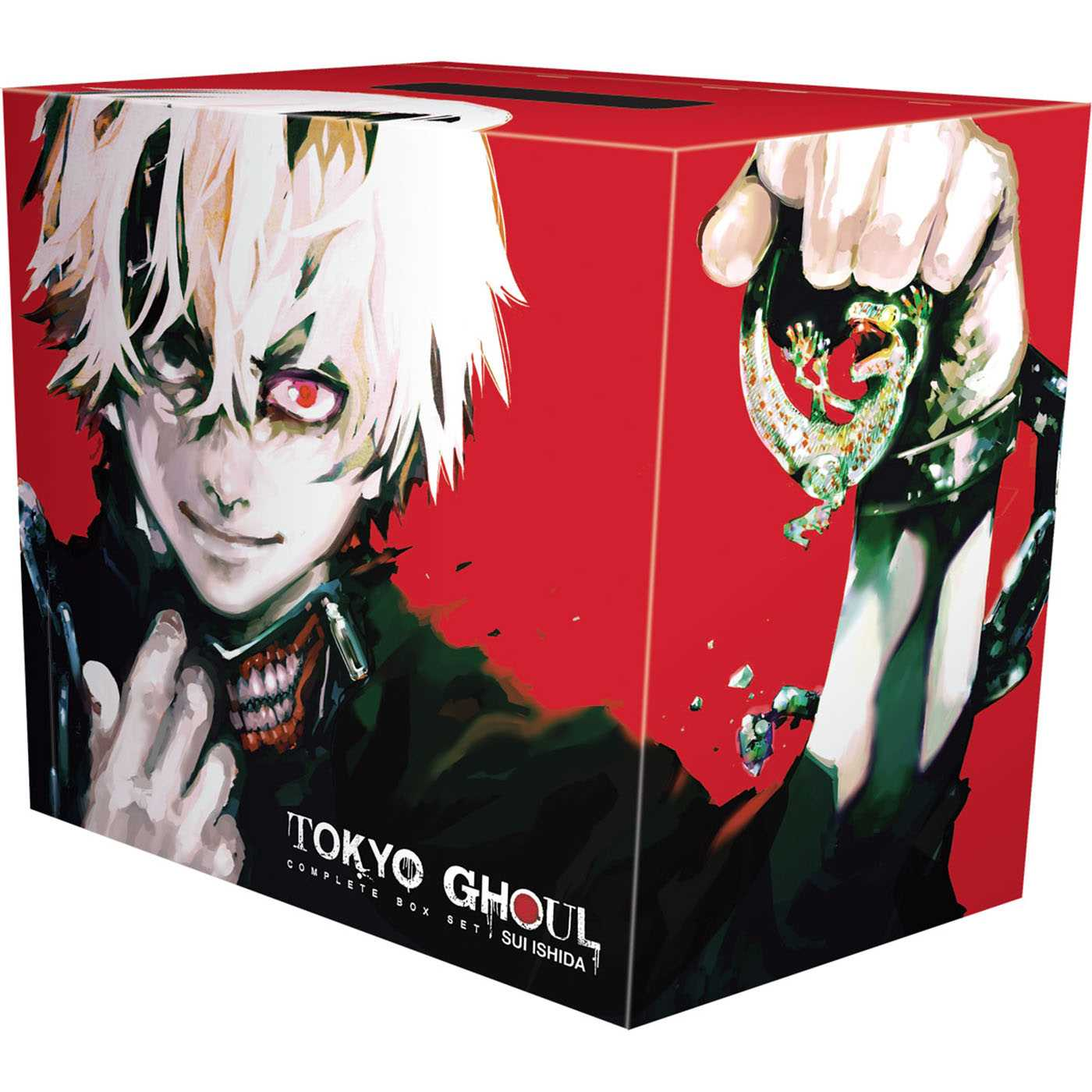 Tokyo Ghoul Complete Box Set : Includes vols. 1-14 with premium