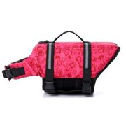 "Paw Essentials MWG-C375 Dog Life Jackets with Extra Padding for Dogs - Pink, Large, Chest:21.65""-27.56"", Neck:14.96""-18.90"", Length:13.78"""