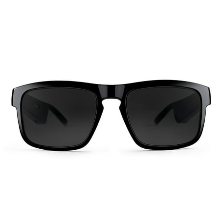 Bose Frames Tenor - Rectangular Bluetooth Audio Sunglasses, Black