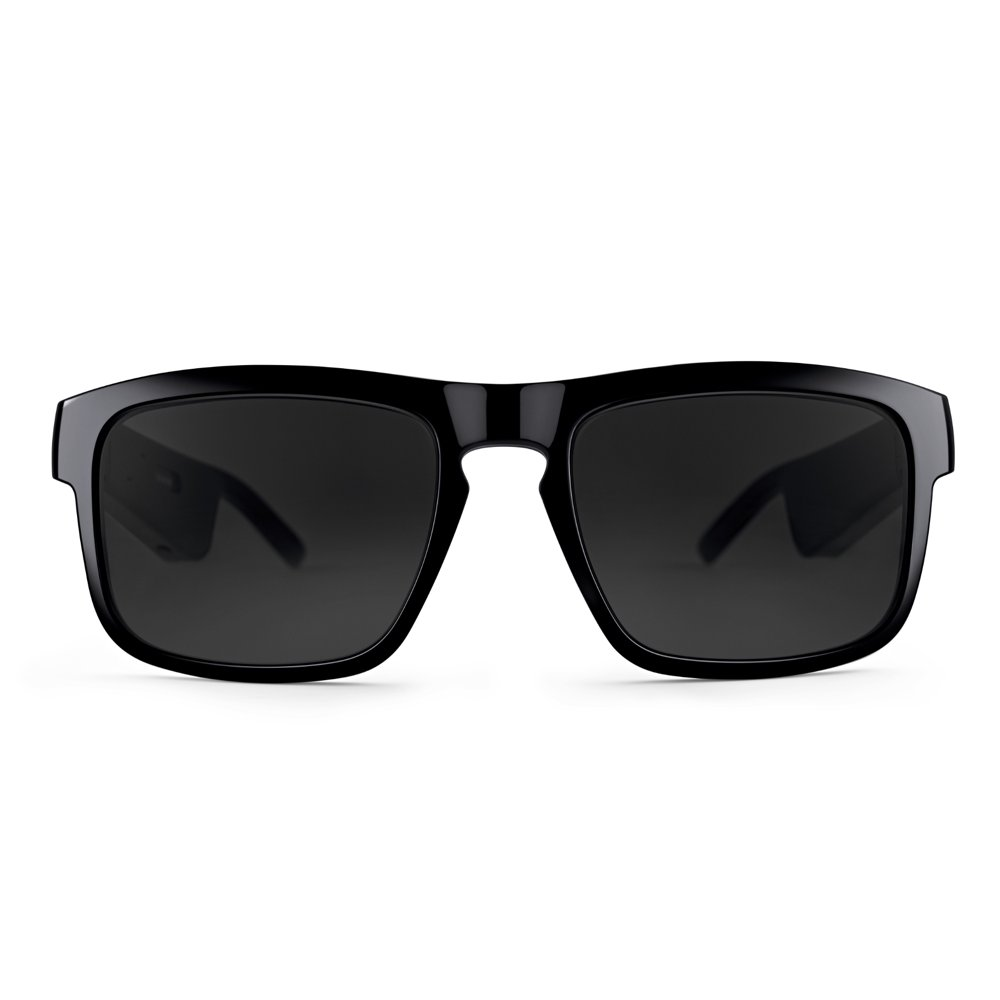Bose Frames Tenor - Rectangular Bluetooth Audio Sunglasses, Black