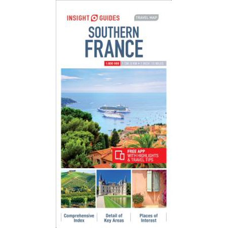 Map South Of France Coast.Insight Travel Map Southern France
