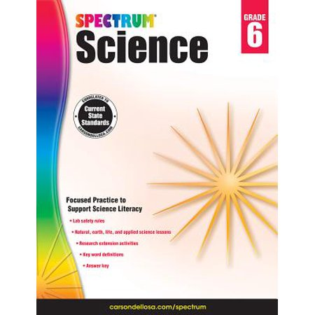 Spectrum Science, Grade 6