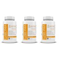 Pure Garcinia Cambogia All Natural 100% HCA Premium Diet Weight Loss Fat Burner 3 Bottles