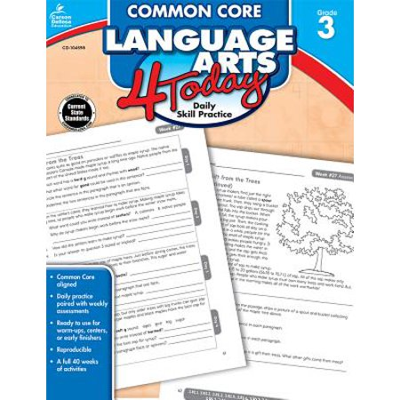 Daily Language Practice Book (Common Core Language Arts 4 Today, Grade 3 : Daily Skill Practice)