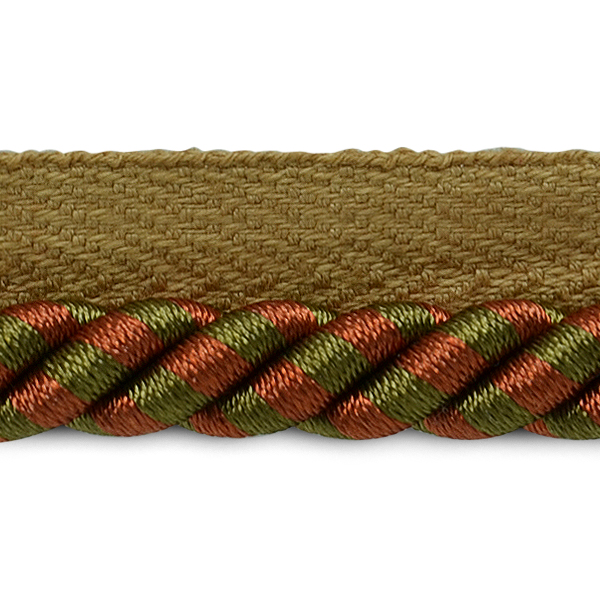 "Expo 5 yards of 3/8"" Twisted Lip Cord Trim - LB5622B"