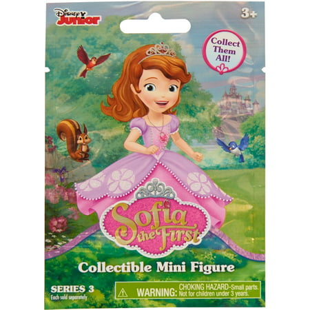 Disney Sofia the First Blind Pack Figures, Pack of 6