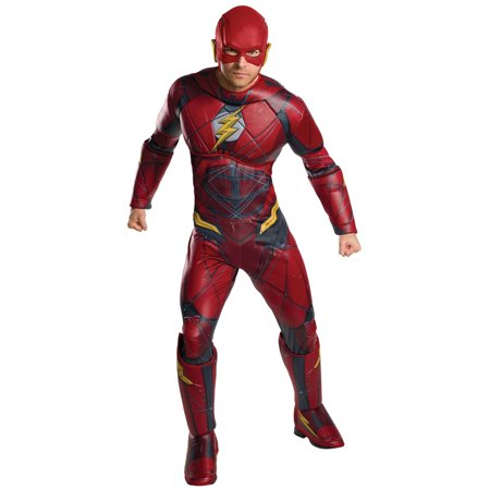 Justice League Adult Flash Deluxe Costume](Flash Costume Women)