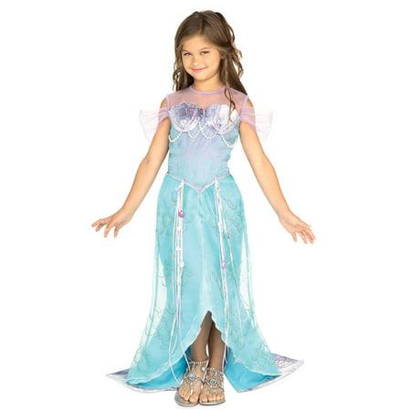 Child Mermaid Princess Dress Rubies 882719