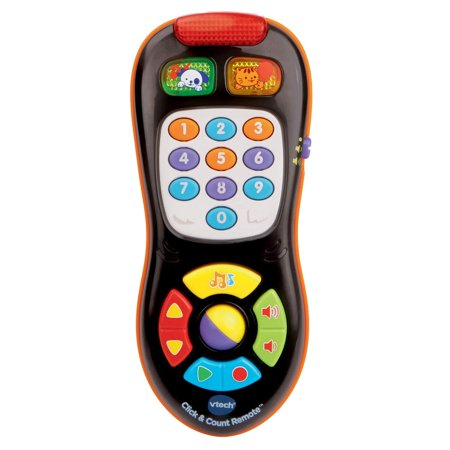 VTech Click and Count Remote, Black Standard Packaging Vtech Click Box