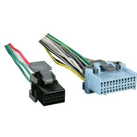 Cd Changer Wiring Harness (Metra Reverse Wiring Harness 71-2103-1 for Select GM Vehicles OEM)