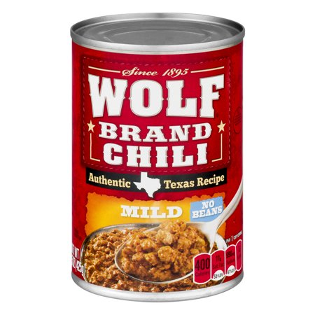 Wolf Brand Chili Mild No Beans  15 0 Oz