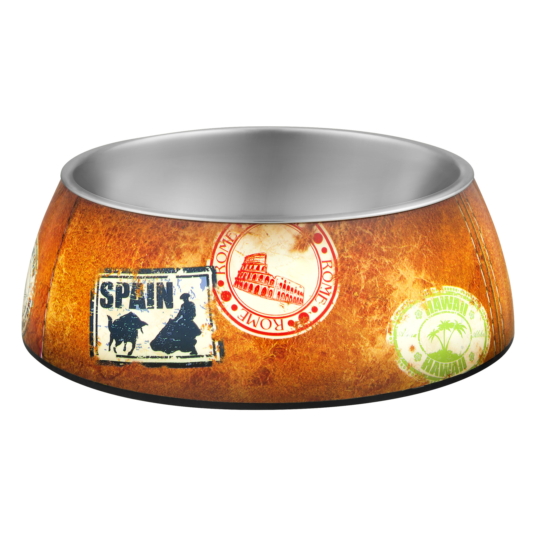 Loving Pets Milano World Traveler Bowl Large, 1.0 CT