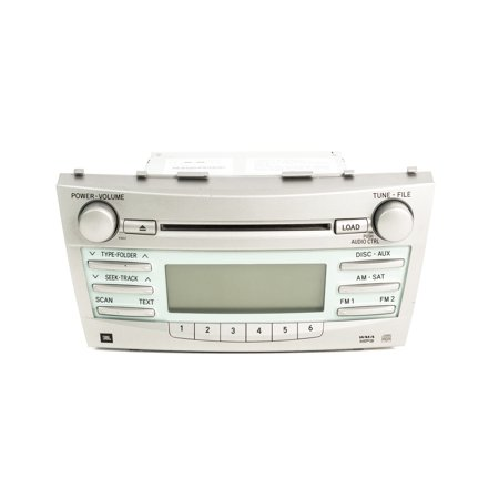 2007-2009 Toyota Camry AM FM Radio mp3 CD Satellite Ready 86120-33A00 Face 51822
