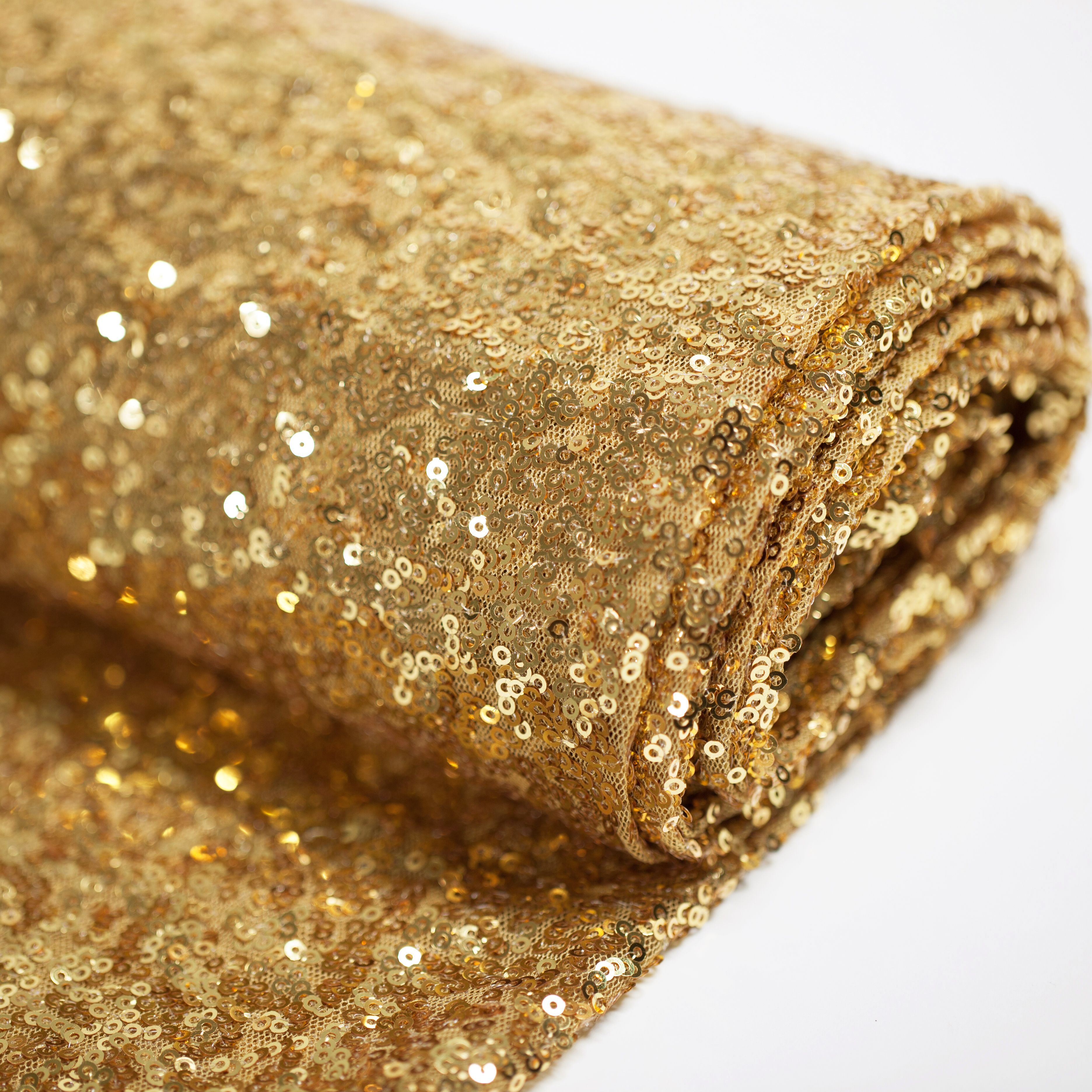 "BalsaCircle 54"" x 4 yards Sequined Fabric Bolt Put-up - Sewing Crafts Draping Decorations Supplies"