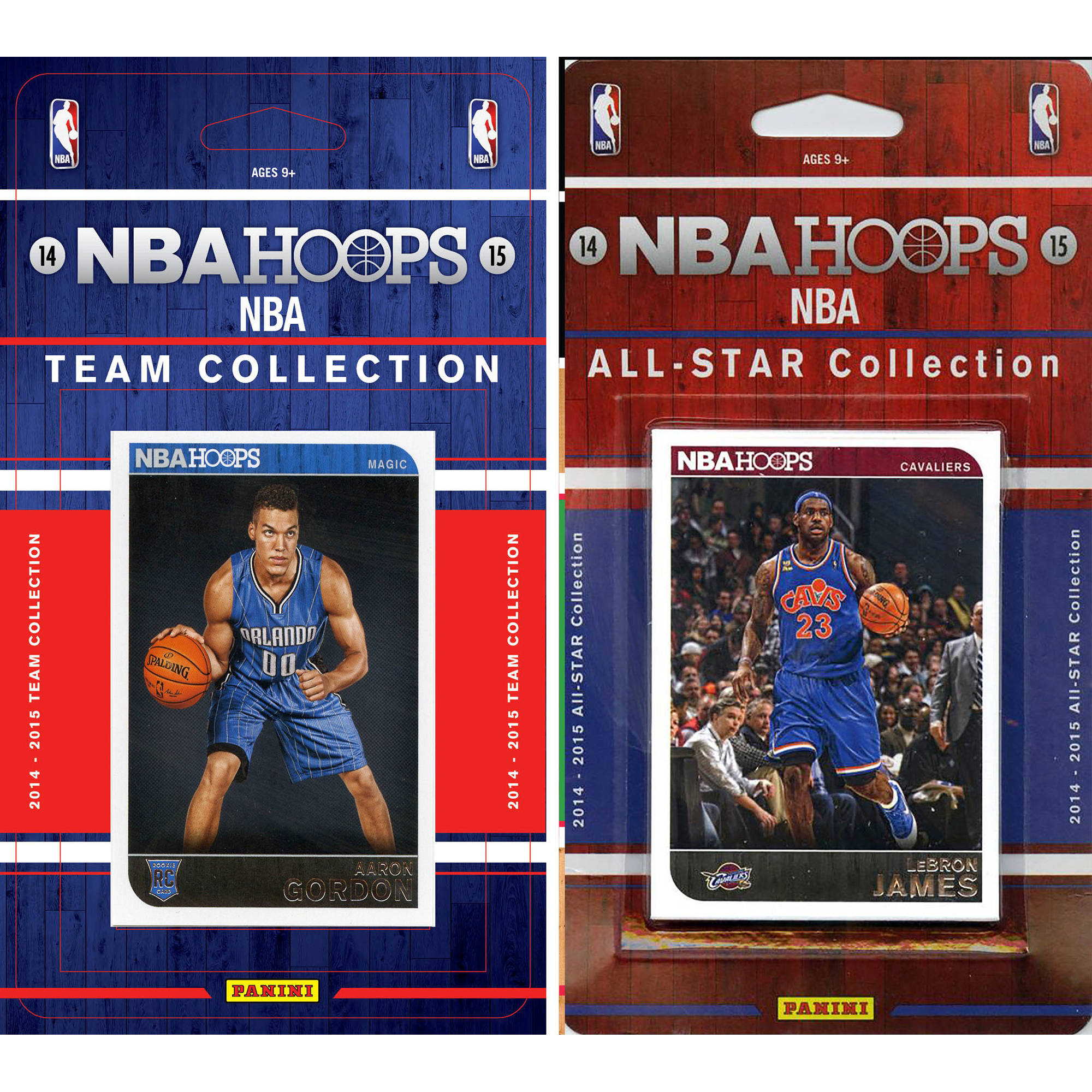 C&I Collectables NBA Orlando Magic Licensed 2014-15 Hoops Team Set Plus 2014-15 Hoops All-Star Set