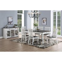 Joanna Two-Tone 7-Piece Dining Set