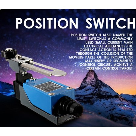 2 x M.way ME-8104 Momentary Actuator Action Rotary Roller Lever Arm 2 AC Limit Switch Adjust - image 9 of 11