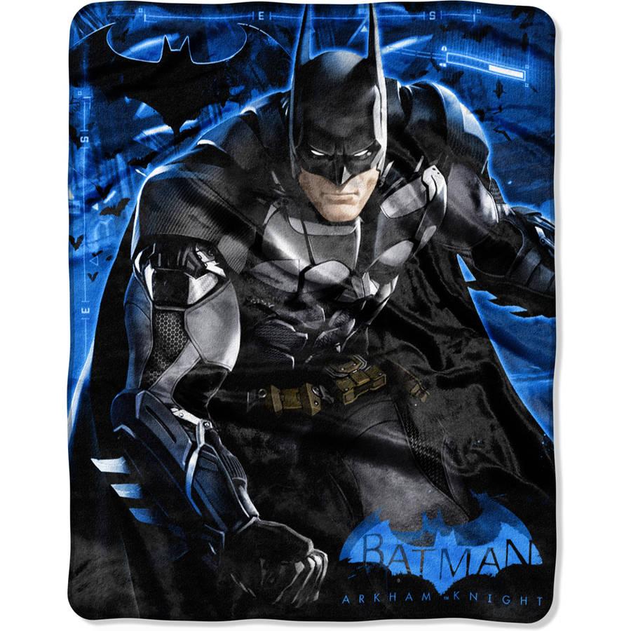 "Warner Bros.' Batman Arkham Knight ""Progress"" 40"" x 50"" Silk Touch Throw"