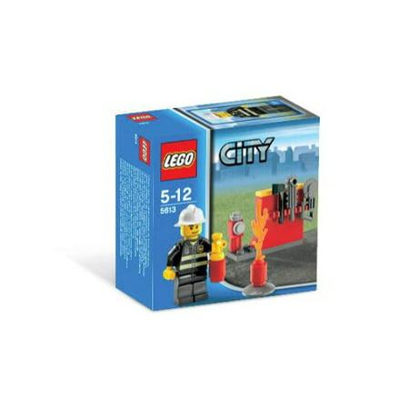 Lego City Exclusive Mini Figure Set #5613 - Firefighter Lego City