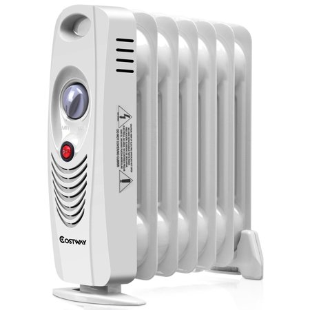 700W Portable Mini Electric Oil Filled Radiator Heater
