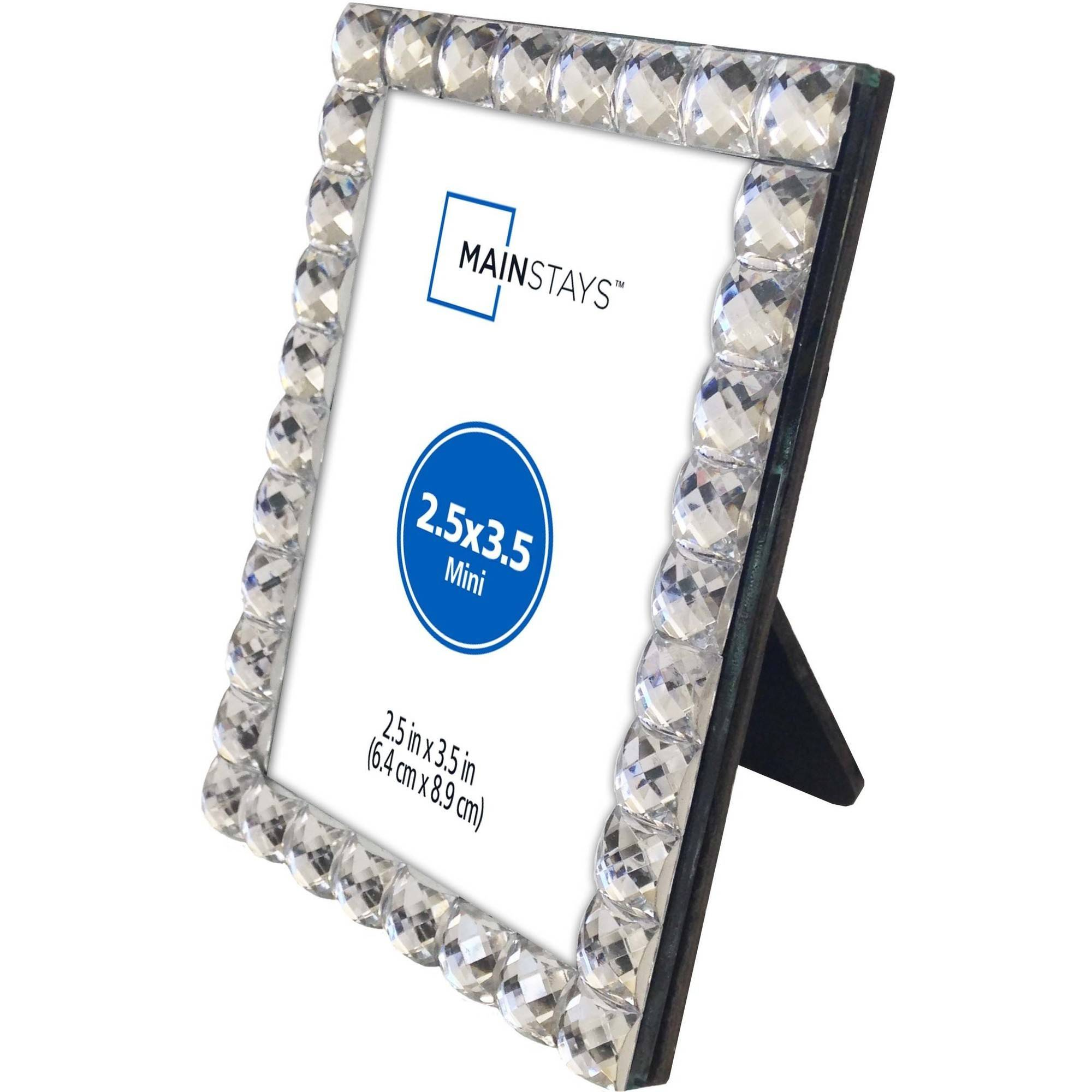 Mainstays Bling Mini Picture Frame, Silver - Walmart.com