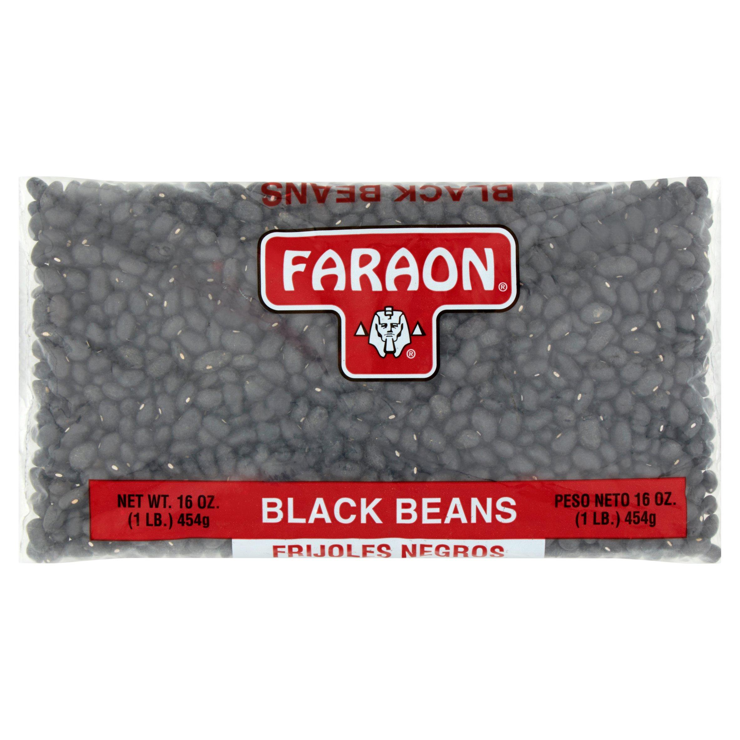 (6 Pack) Faraon Black Beans, 1 lb