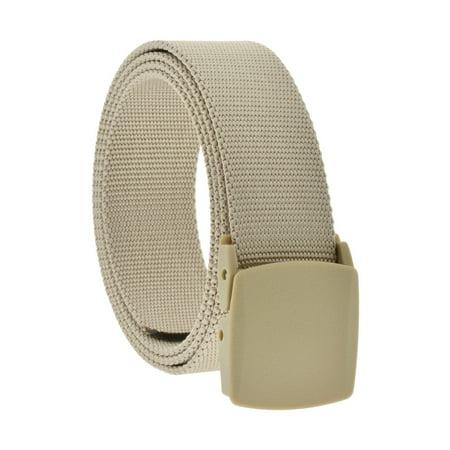 Belt Brand - Men's Tan Military Grade Tactical Comfort Belt