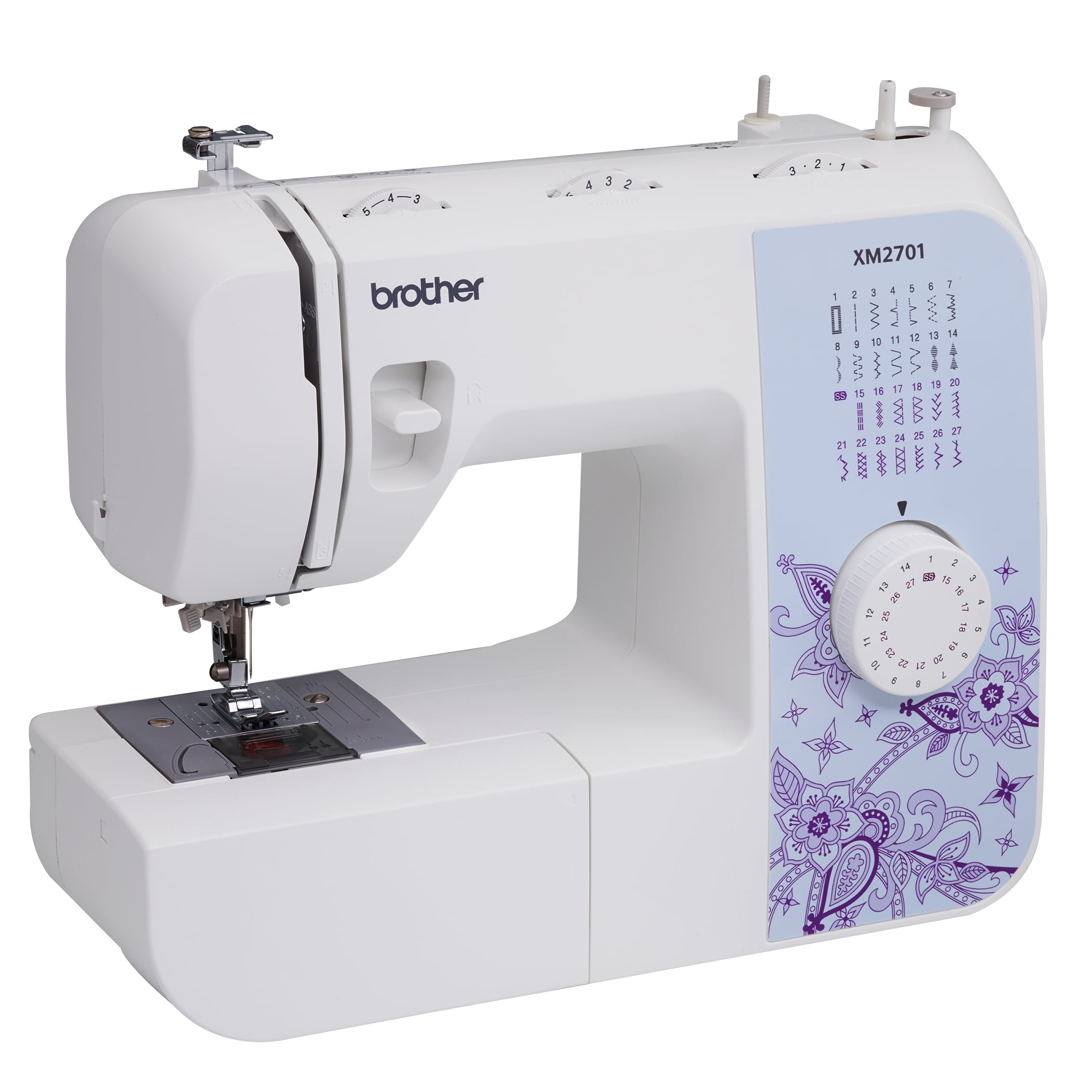 Brother Xm2701 Lightweight Full Featured Sewing Machine With 27