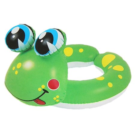 Inflatable Green and Yellow Frog Children