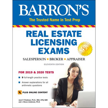 Barron's Real Estate Licensing Exams with Online Digital Flashcards - Halloween Real Estate Postcards