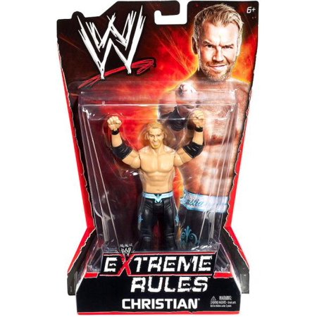 WWE Wrestling Extreme Rules Christian Action Figure - Extreme Toys