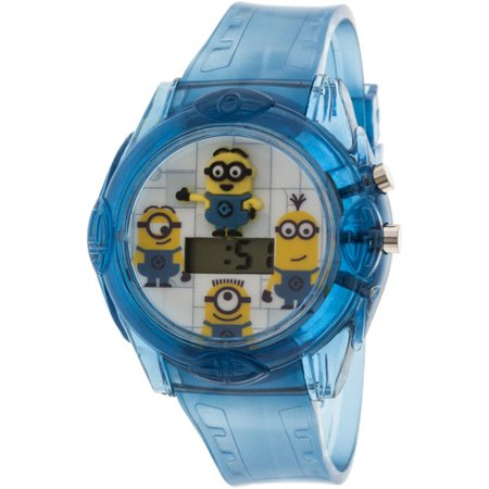 Universal universal despicable me molded head watch for Despicable watches