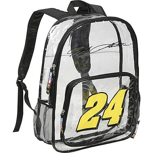 Nascar Jeff Gordon Clear Backpack