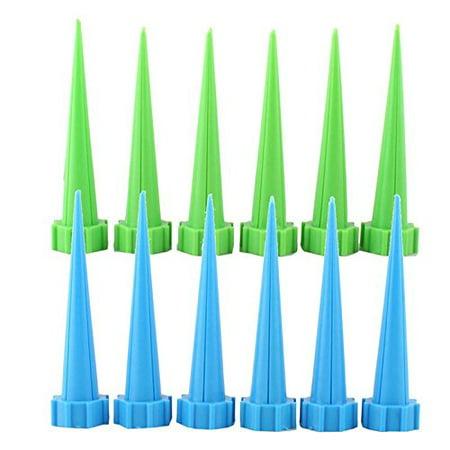 12Pcs Garden Cone Watering Spike Flower Plant Waterers Bottle Irrigation (Flower Cone)
