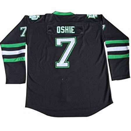 official photos ba7db d0749 North Dakota Fighting Sioux #7 TJ Oshie Jersey University ...