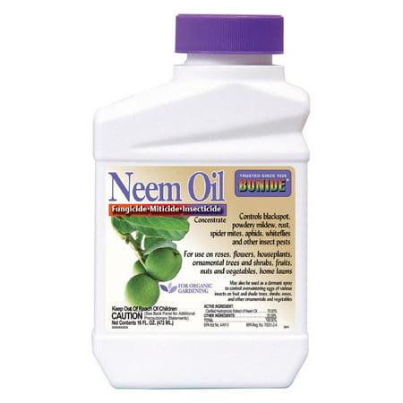16oz Neem Oil Fungicide Miticide Insecticide Concentrate