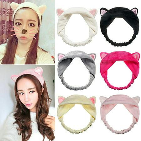 Headband Gift - Girl12Queen Girl's Fashion Cute Cat Ears Headband Hair Head Band Party Gift Headdress
