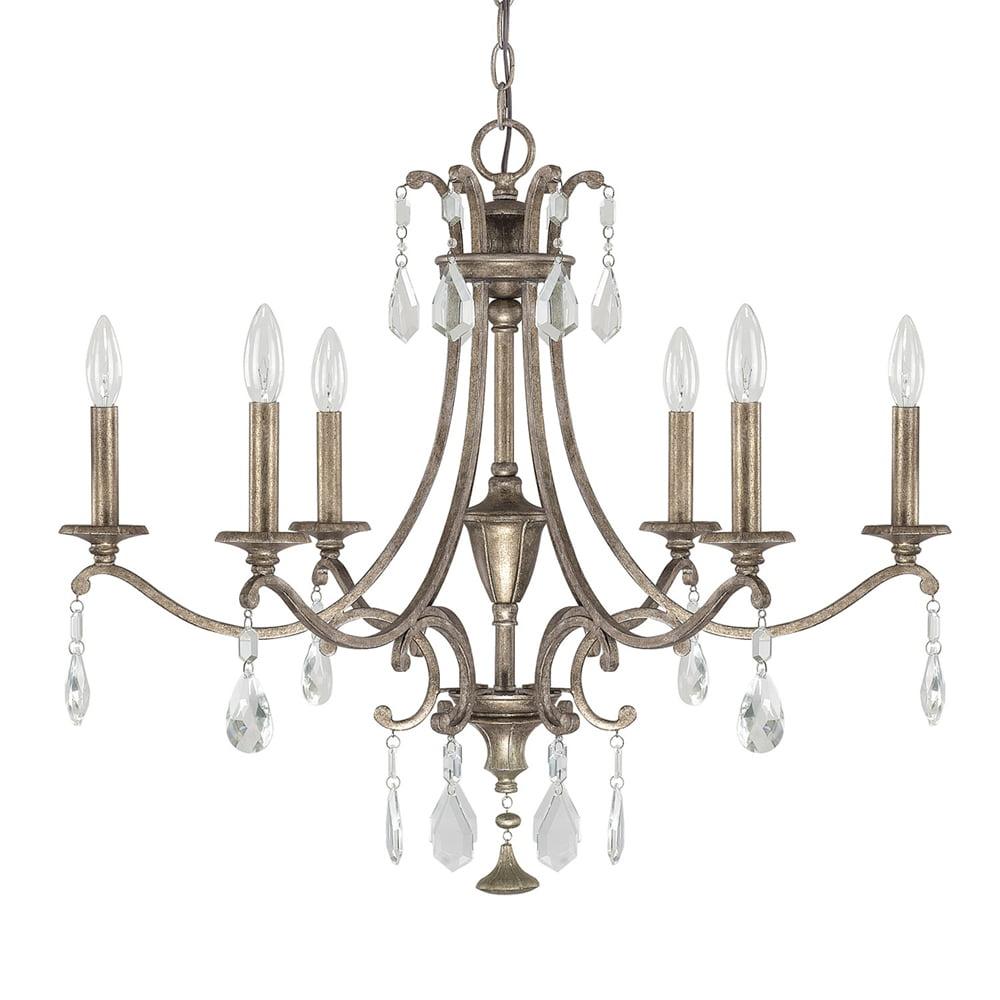 Capital Lighting Montclaire Mystic 6 Light Chandelier