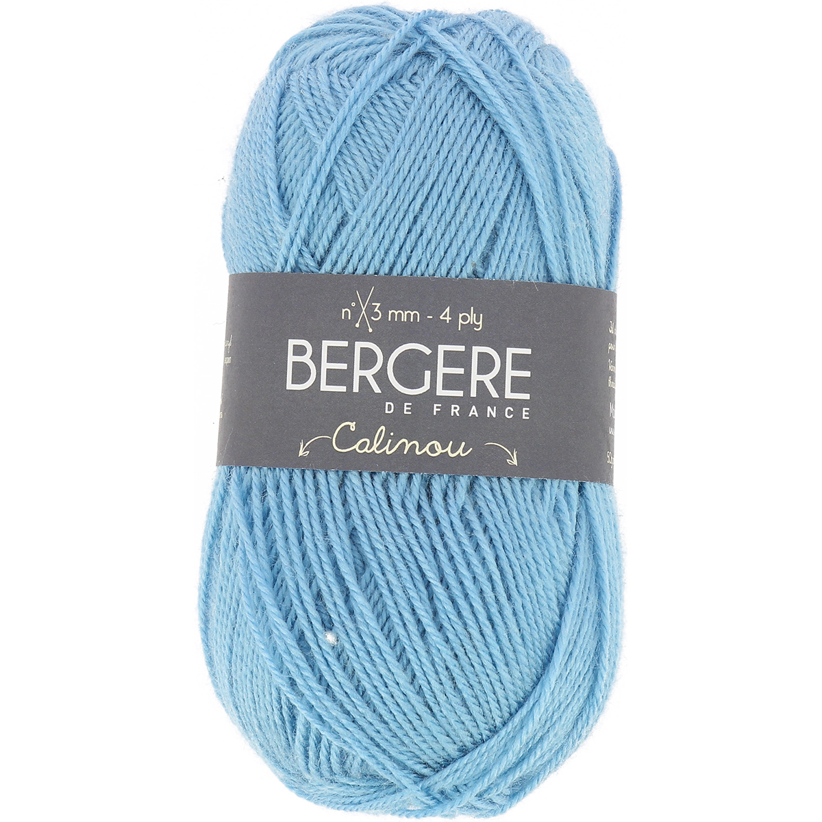 Bergere De France Calinou Yarn-Bleu Clair - image 1 de 1