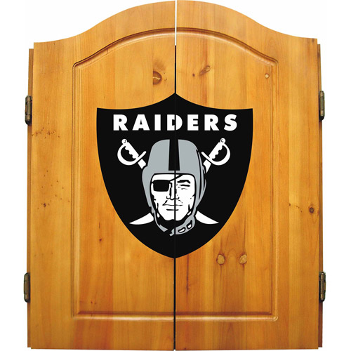 Imperial International NFL Dart Cabinet, Oakland Raiders