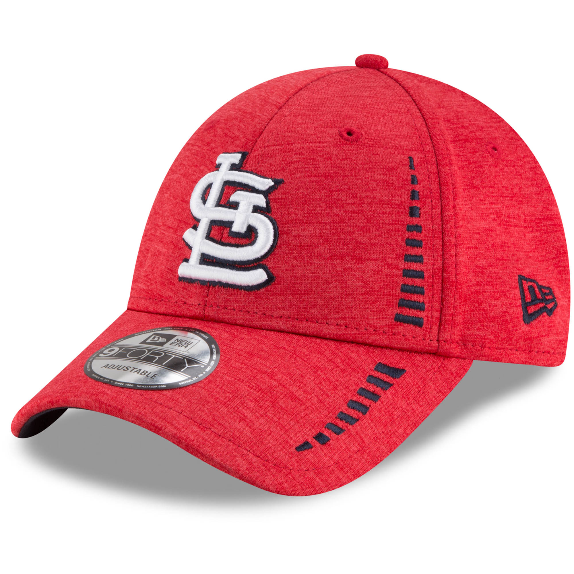 St. Louis Cardinals New Era Speed Shadow Tech 9FORTY Adjustable Hat - Red - OSFA