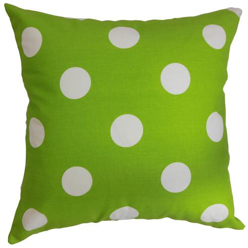 The Pillow Collection Rane Polka Dots Throw Pillow Cover