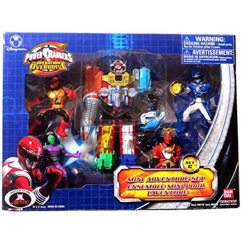 Bandai Year 2007 Power Rangers Operation Overdrive Series...