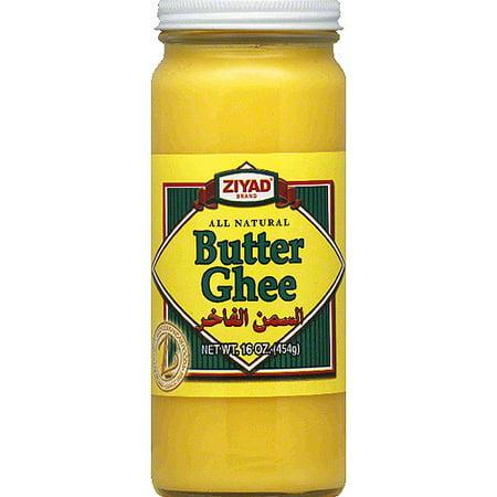 Ziyad Brand Butter Ghee, 16 oz, (Pack of  6) (Best Ghee Brand In Chennai)