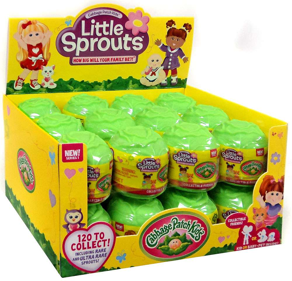 Cabbage Patch Kids Little Sprouts Mystery Box [24 Packs] by
