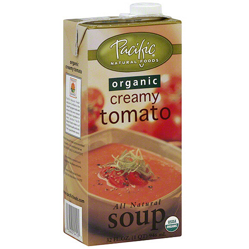 Pacific Natural Foods Creamy Tomato Soup, 32 oz (Pack of 12)