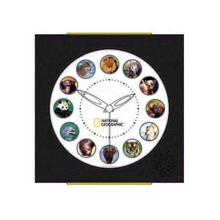 National Geographic Animal Clock
