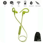 EEEKit Wireless Bluetooth V4.1 Sweatproof Sport Runing Earphones Earbuds Headset w/ MIC & Volume Control for Smart Phone
