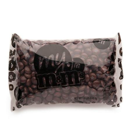 Brown M&M'S® Bulk Candy Bag (1lb) (Brown Candy)