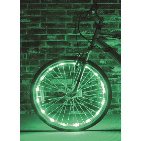 Brightz, Ltd. Green Wheel Brightz LED Bicycle Accessory Light (for 1 Wheel)